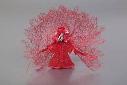Nikahseker Rotes Hennakleid mit Magnet