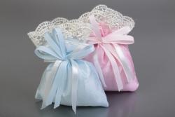 Nikahseker Lavendelsäckchen Blau Junge Geburt