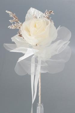 Nikahseker Rose aus Tüll