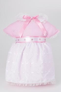 Kissen Mädchenkleid für Geburtsgeschenke