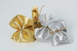 Kina silber und goldene säckchen