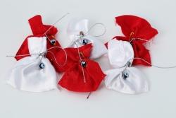 Kina rote und weiße säckchen mit Nazarboncugu